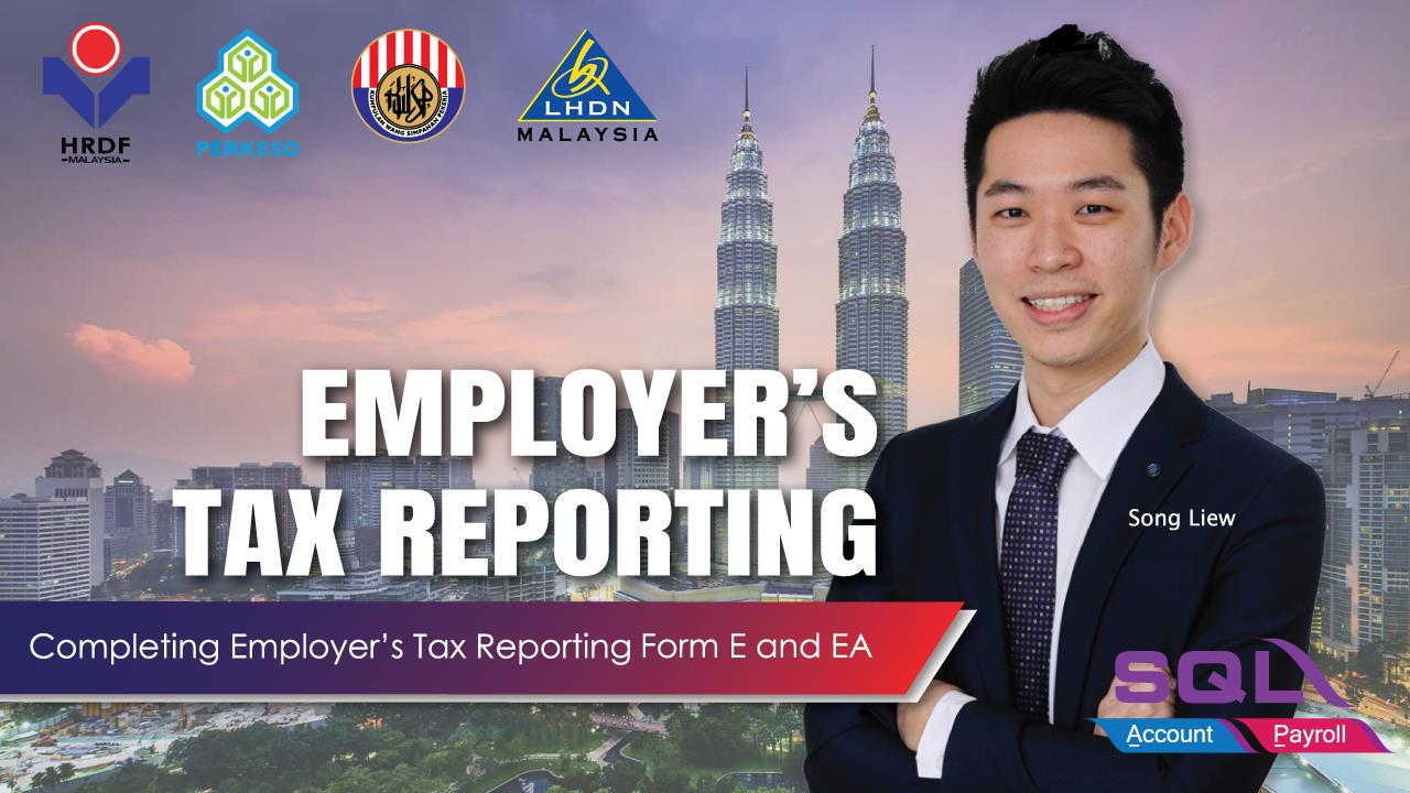 Yearly Employer Tax Reporting - Form E & Form EA